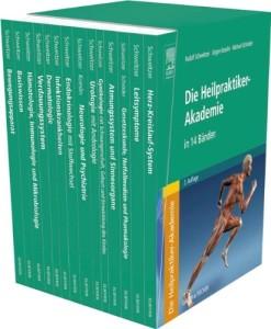 Heilpraktiker-Ausbildung: Die Heilpraktiker-Akademie in 14 Bänden